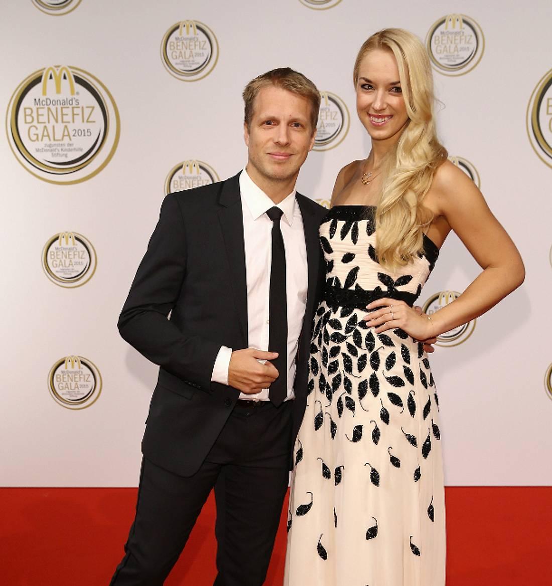 Oliver Pocher und Freundin Sabine Lisicki