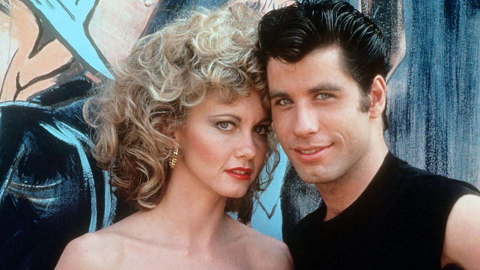 Olivia Newton-John und John Travolta in Grease - Foto: Imago