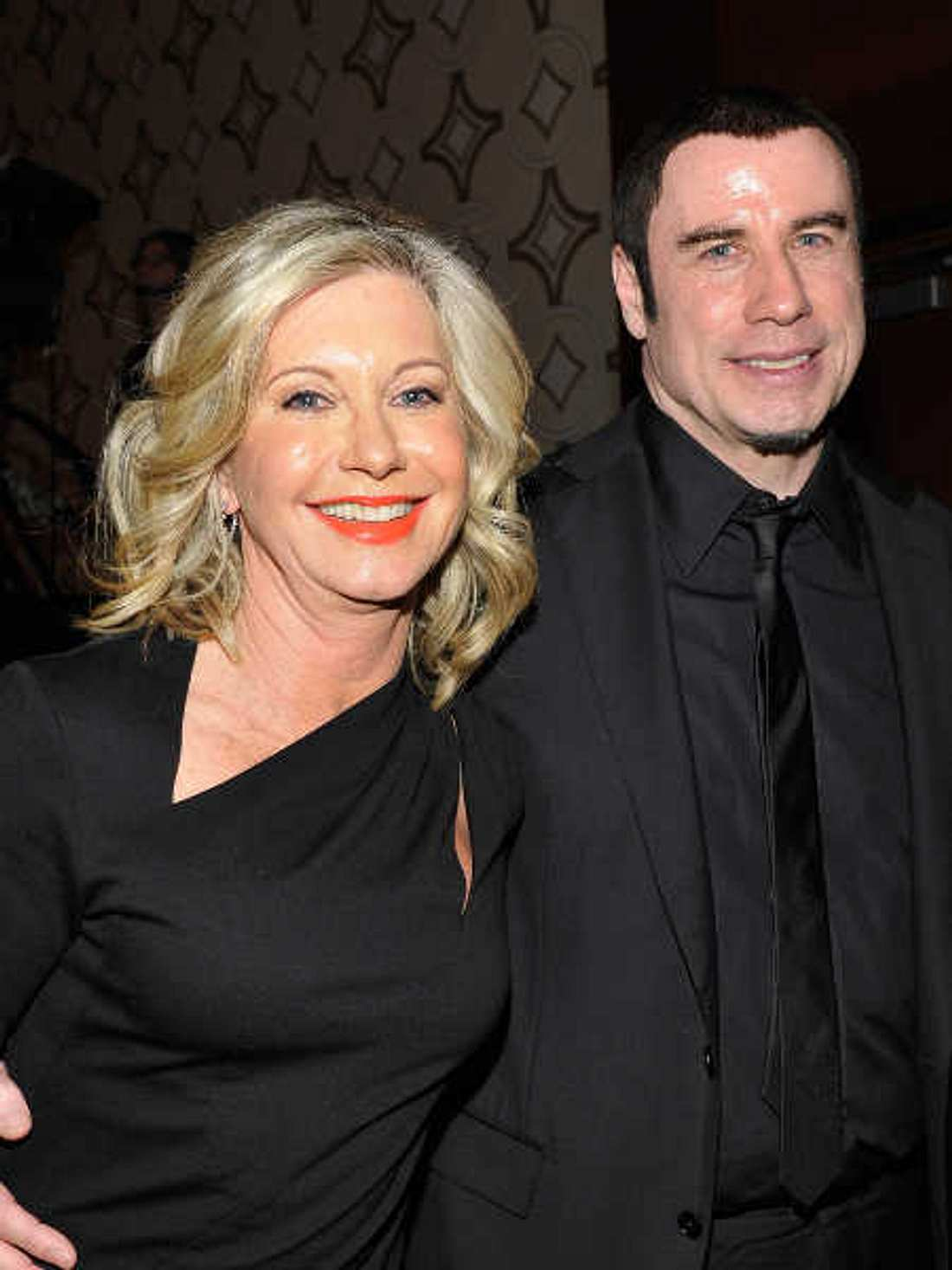 Olivia Newton-John und John Travolta sind gute Freunde.