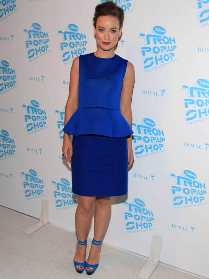 Diese High Heels trägt Schauspielerin Olivia Wild.