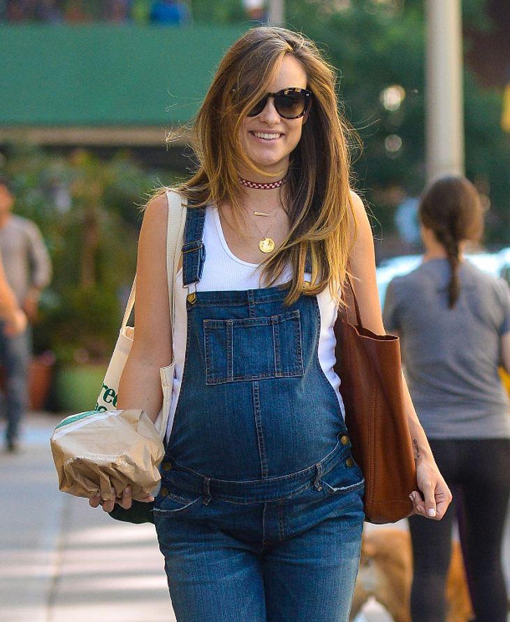 Olivia Wilde ist hochschwanger