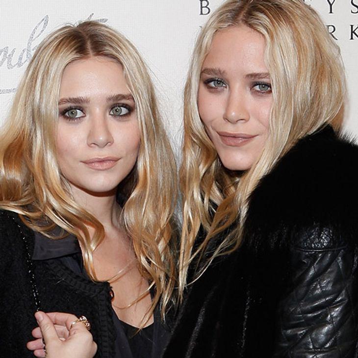Mary-Kate Olsen (links) ist frisch verliebt