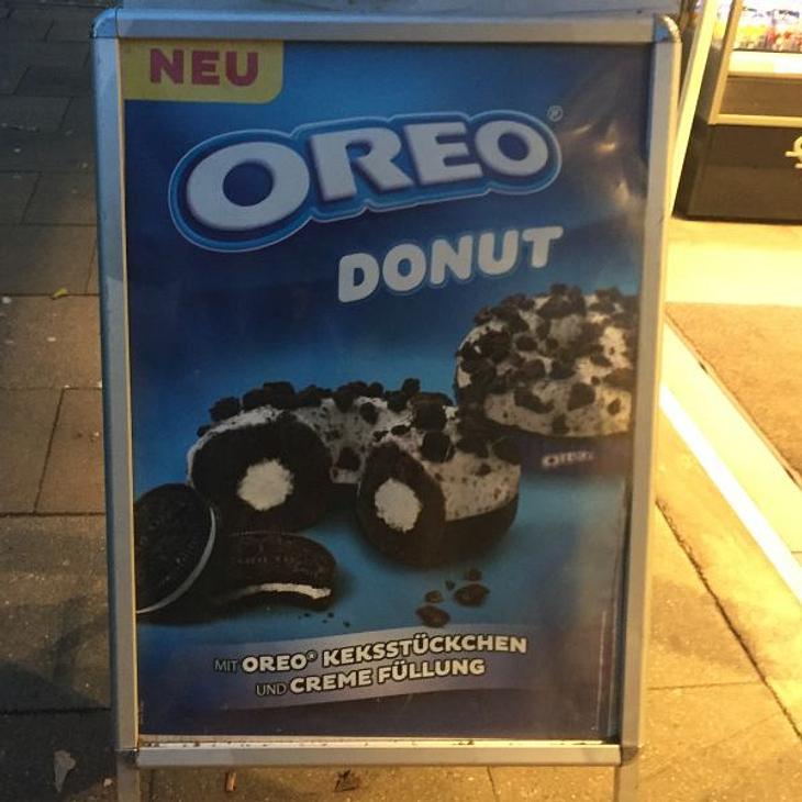 Oreo-Donut von Backwerk - Noch besser als der Nutella-Burger von McDonalds?