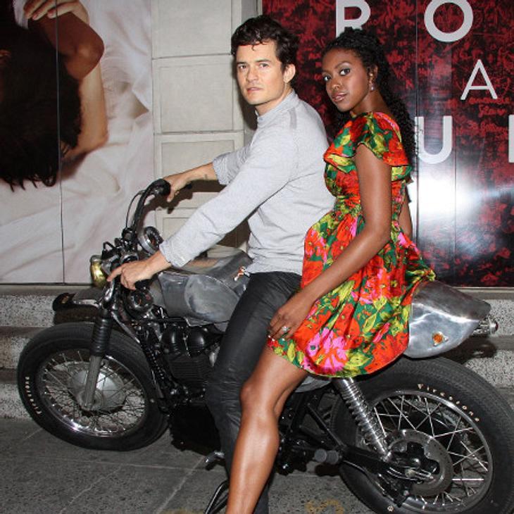 Orlando Bloom feierte seine Broadway-Premiere.