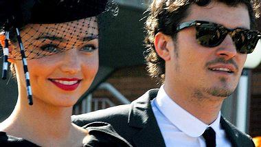 Orlando Bloom und Miranda Kerr: Ist die gemeinsame Investition in ein Haus vielleicht ein weiterer Schritt in Richtung Heirat? - Foto: GettyImages