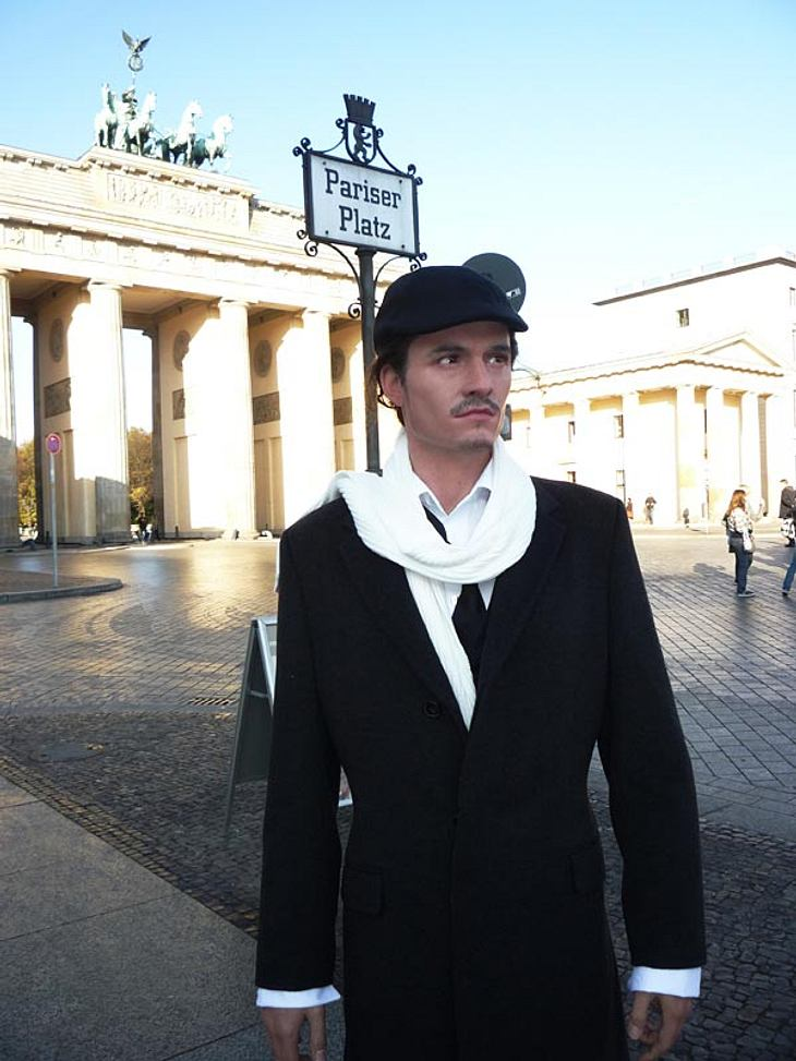"""Stars bei Madame Tussauds: Im Oktober 2008 machte """"Fluch der Karibik""""-Schnuckel Orlando Bloom Urlaub in Berlin - zumindest seine Wachsfigur. Als sich herausstellte, dass alle Orli sehen wollen, wurde sein Wachs-Double kurzerhand a"""