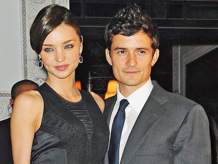 Miranda Kerr und Orlando Bloom haben ihre Eheringe bereits abgelegt