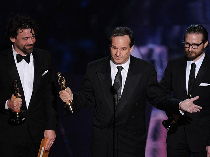 """Oscar 2012: Die strahlenden GewinnerBeste Regie: """"The Artist"""" (Michel Hazanavicius)"""