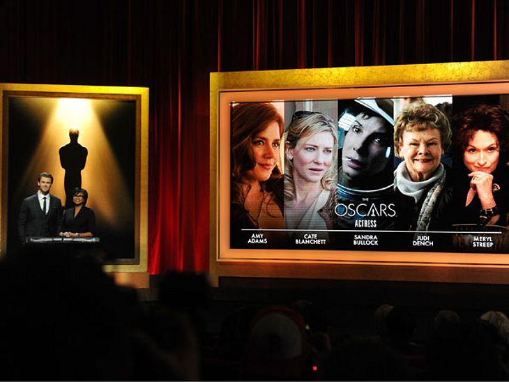 Die Oscar Nominierungen wurden bekannt gegeben.