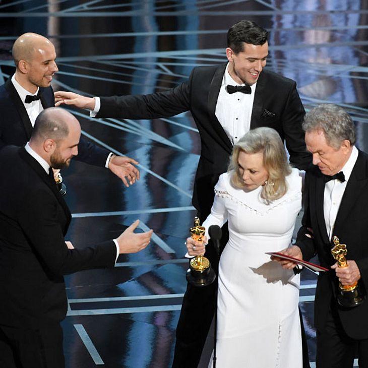 Oscar 2017: Mega Panne bei der Preisverleihung!