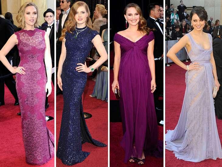 Die Fashion-Trends der Oscar-VerleihungAuf diesen Event haben die Stars ein Jahr lang gewartet und hingearbeitet: Diäten, Sport und hier und da eine kleine Botox-Spritze, Gesichtsbehandlungen, Anproben mit Designern und Besuche in unzählige