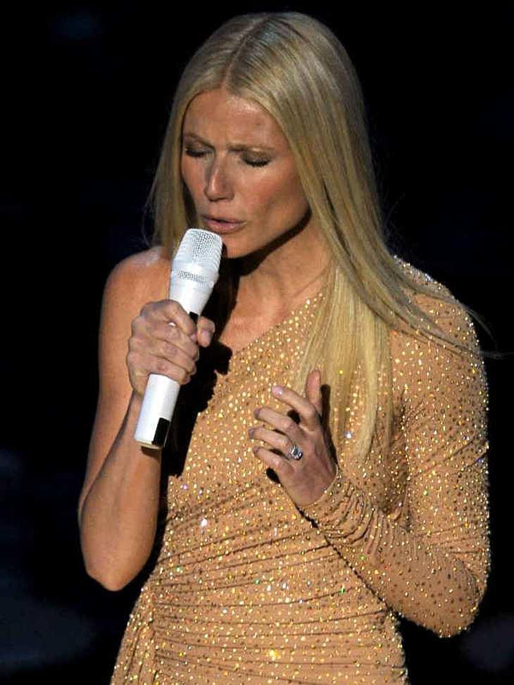 """,Oscar-Verleihung 2011:Auch Gwyneth Paltrow sang ihren Song """"Coming Home"""" aus dem Film """"Country Strong"""". Sie war damit nominiert für die """"Beste musikalische Darstellung""""."""