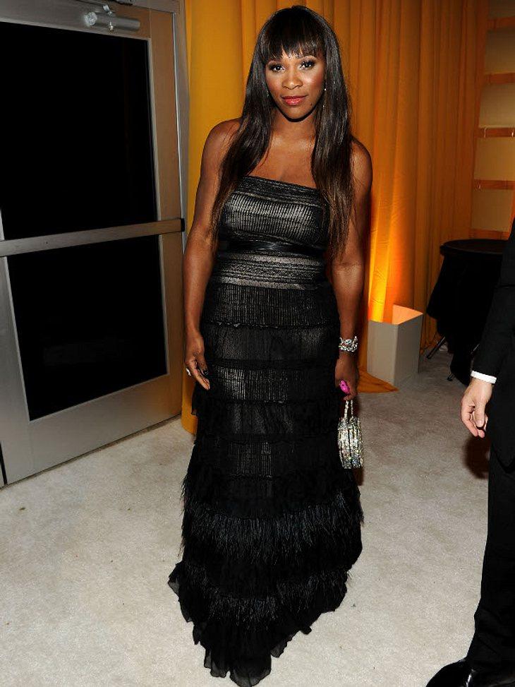 """,Oscar-Verleihung 2011: Die Partys danachSports meets Movie-Stars: Tennis-Profi Serena Williams auf der """"Elton-John-Party."""