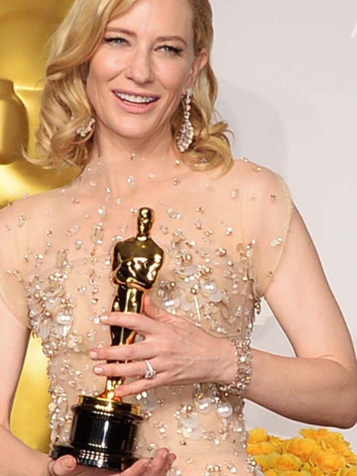 Cate Blanchett trug bei den Oscars ein Outfit im Wert von 18,1 Millionen Dollar