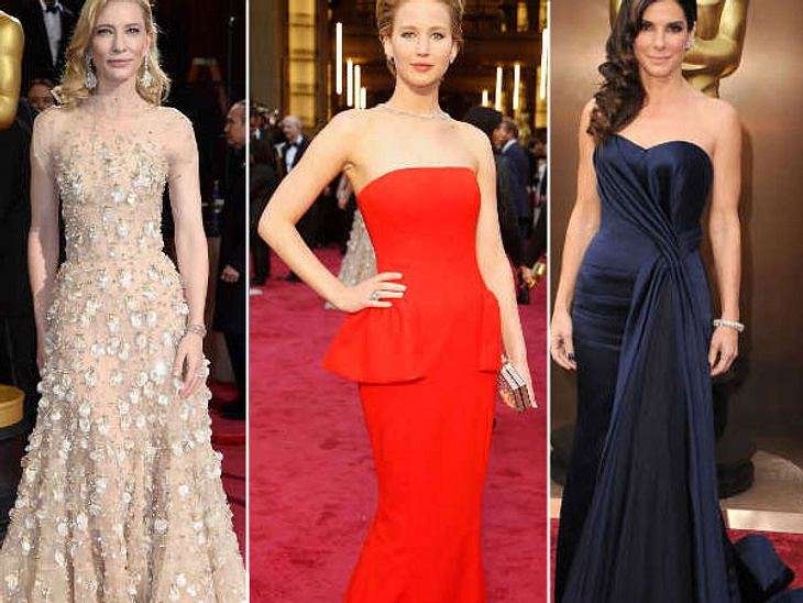 Oscars 2014: So toll sahen die Ladys aus
