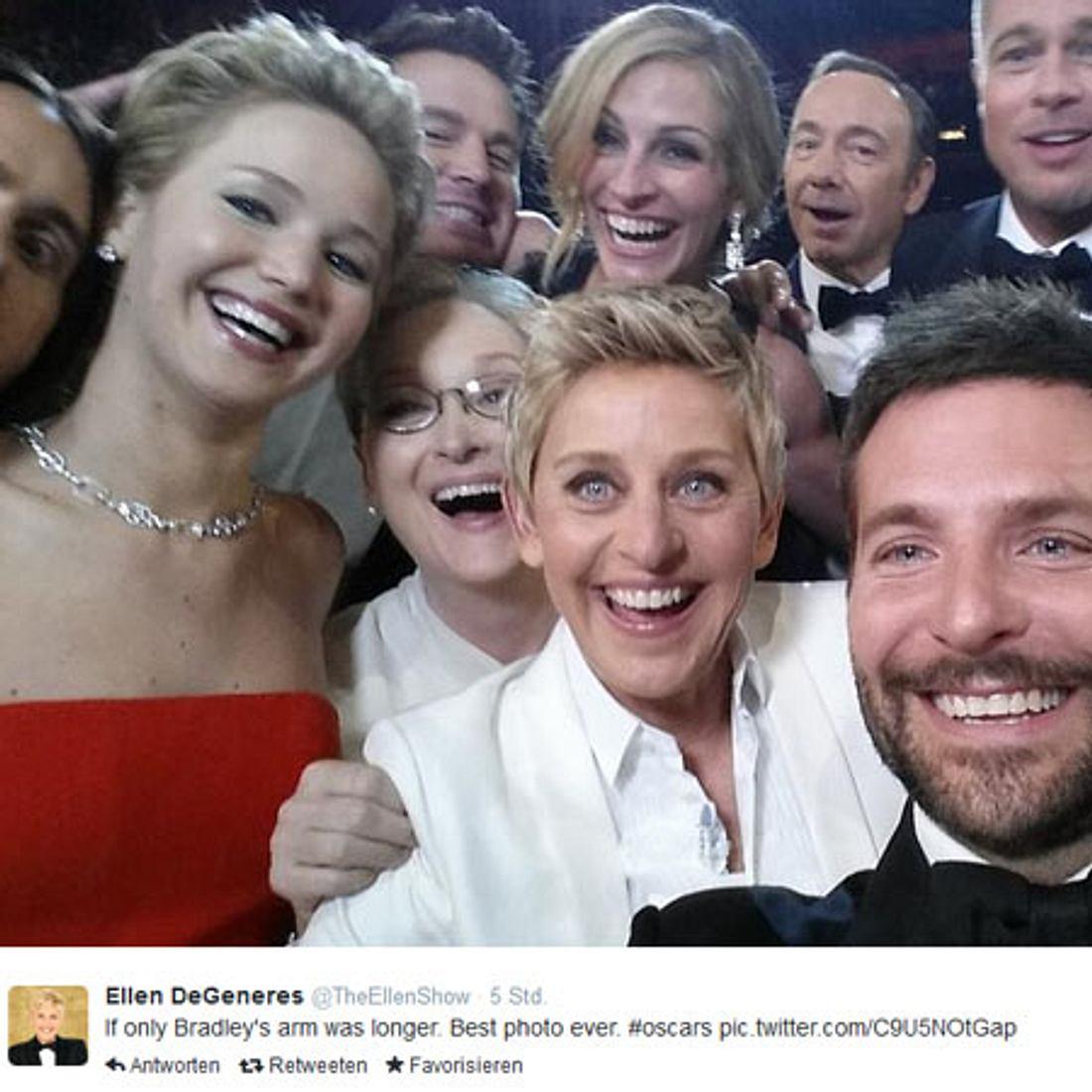 War dieser Oscar-Selfie eine geplante Werbe-Aktion?