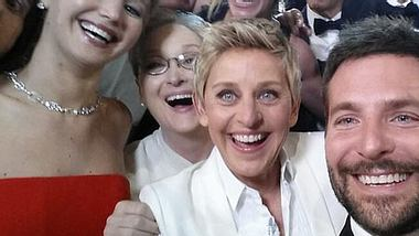 War dieser Oscar-Selfie eine geplante Werbe-Aktion? - Foto: Twitter / @TheEllenShow