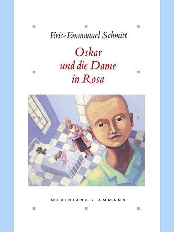 """""""Oskar und die Dame in Rosa"""" von Eric-Emmanuel Schmitt Alena von der WUNDERWEIB.de-Redaktion:Das schmale Buch hat es in sich: Eine rührende Geschichte, die mich zum weinen brachte... Dem Autor Eric-Emmanuel Schmitt ist es gelungen"""