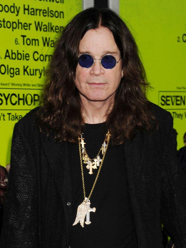 Ozzy Osbourne will eineZukunft mit Sharon.