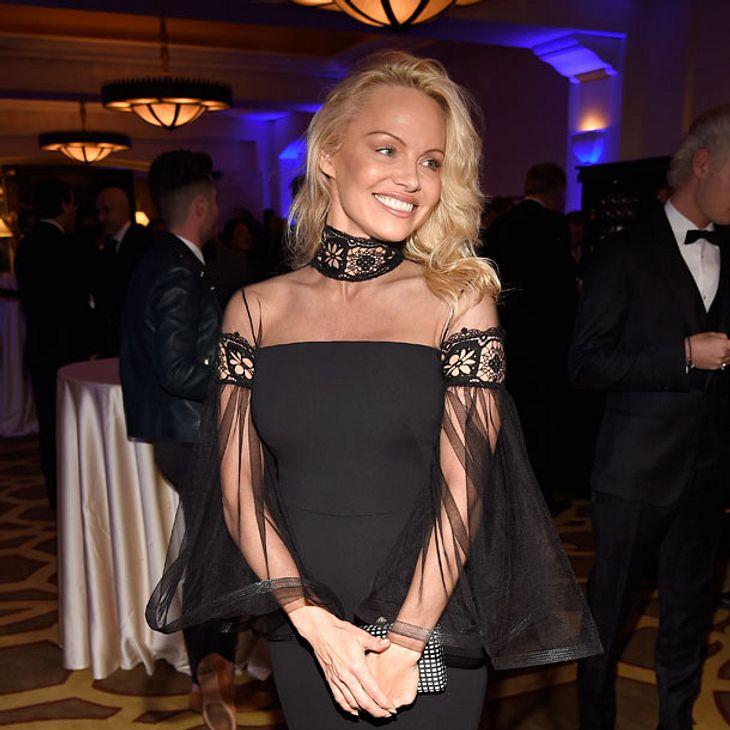 Pamela Anderson - Wenig Make-up, viel Wirkung!