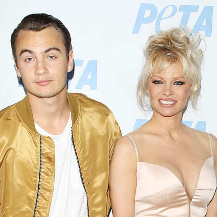 Pamela Anderson Sohn Brandon Lee Model