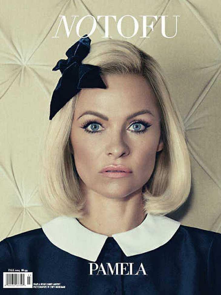 So verändert sieht Pamela Anderson auf dem Magazin-Cover aus.