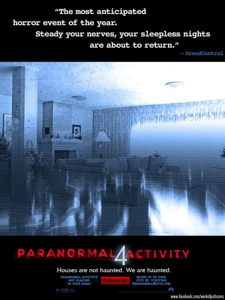 "Unser Kino-Tipp: ""Paranormal Activity 4"""