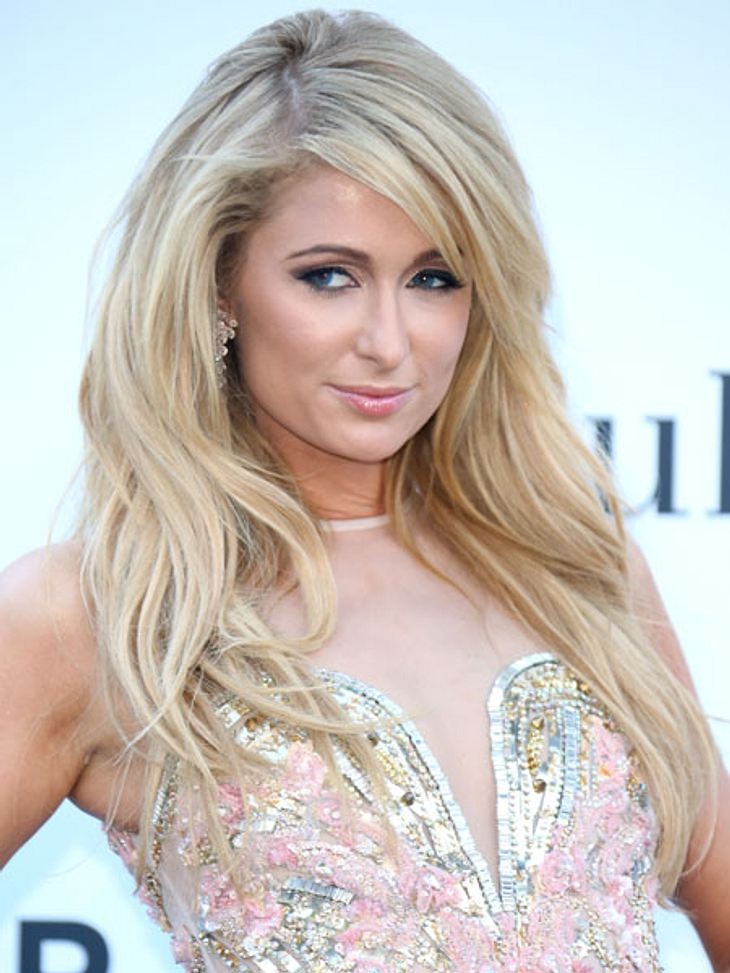 "Paris Hilton bei der ""amfAR""-Charity-Gala in Cannes."