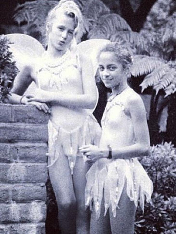 Paris Hilton und Nicole Richie als Teenies