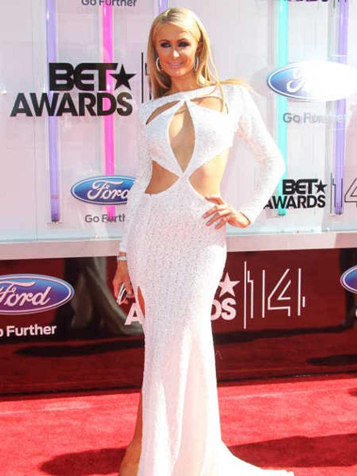Paris Hilton zeigte bei den BET-Awards ziemlich viel.
