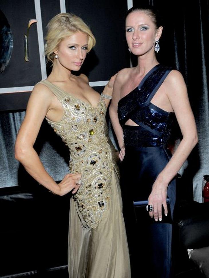"""Paris Hilton: Meine Leben - eine Party15. Januar 2012 in Beverly Hills: Paris Hilton feiert mit ihrer Schwester Nicky Hilton (28) bei der """"Golden Globe""""-Aftershow-Party"""