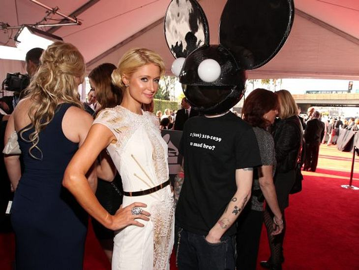 """Paris Hilton: Meine Leben - eine Party12. Februar 2012 in Los Angeles: Die finale Party zu den """"Grammys"""". Ein bisschen Posen mit """"Deadmau5"""" und danach ab auf die After Show Party."""