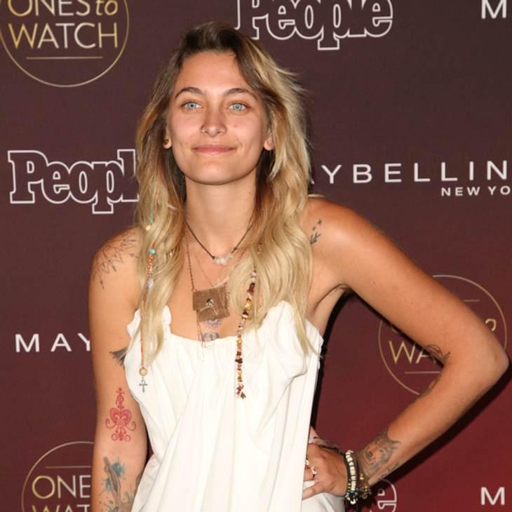 Paris Jackson: Ungeschminkt auf dem roten Teppich