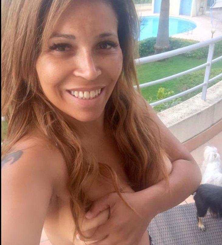 Patricia Blanco zieht blank