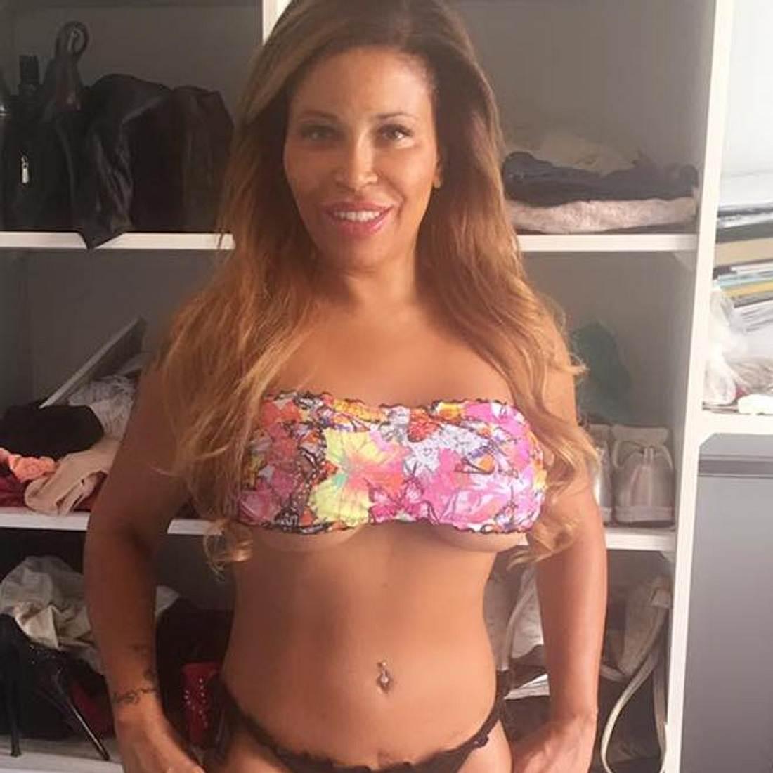 Sexy! Patricia Blanco setzt auf Underboob-Trend