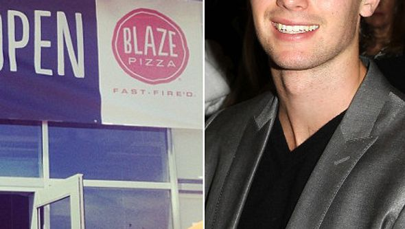 Patrick Schwarzenegger besitzt ein Pizza-Restaurant. - Foto: Instagram/ mariashriver / FayesVision/WENN.com