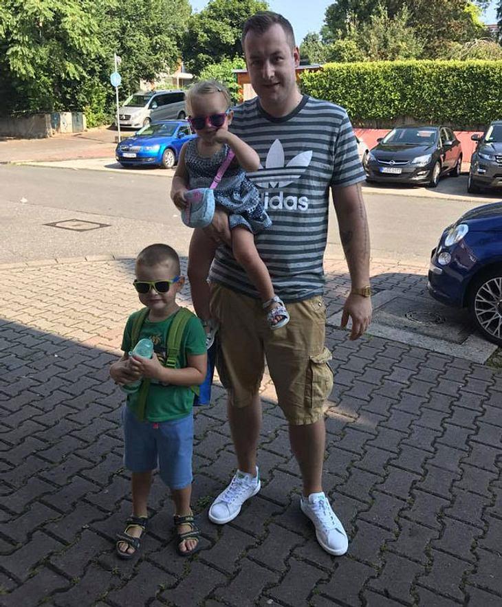 Patrick mit den Kids