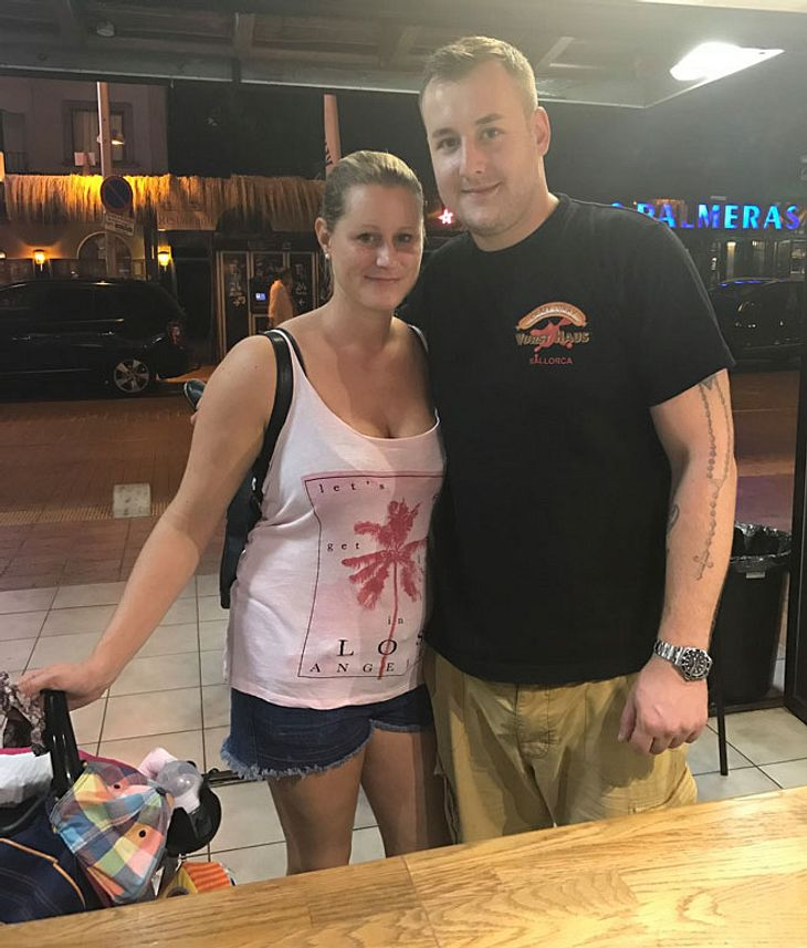 Patrick Lorenz und Frau Anja