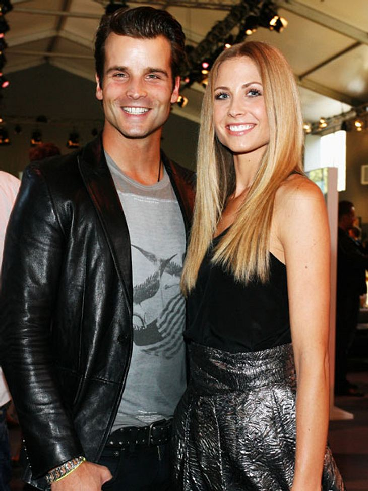 Patrick Nuo und Noch-Ehefrau Molly