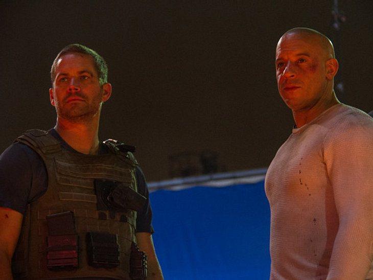 Die letzte Szene, die Vin Diesel und Paul Walker zusammen gedreht haben.