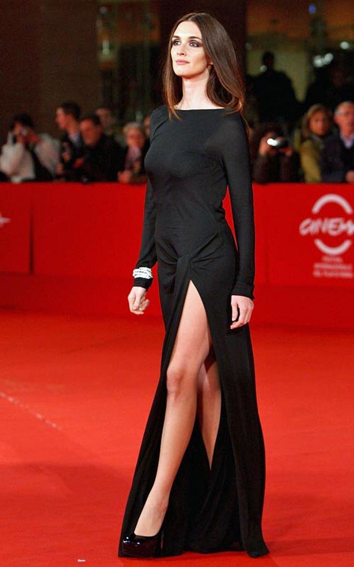Promi-Kleider mit Schlitz: Zeigt her eure Beine!