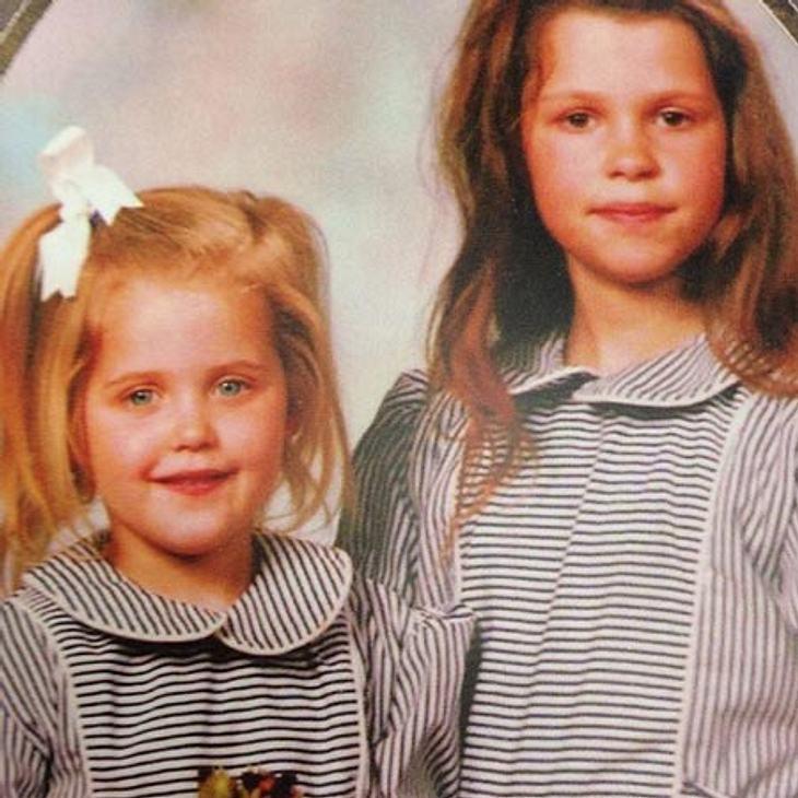 Fifi und Peaches Geldof als Kinder