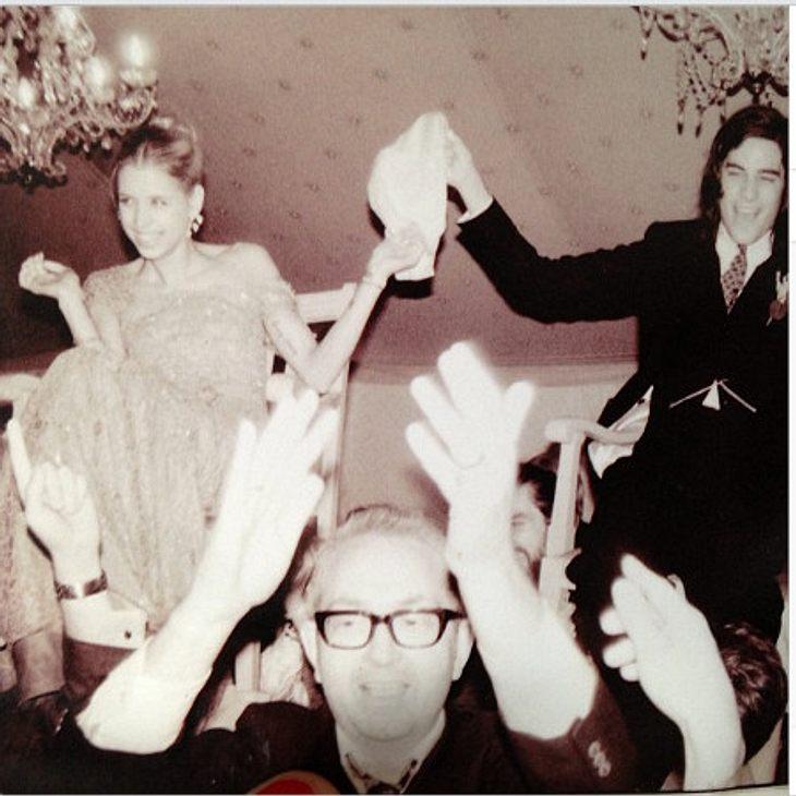 Peaches Geldof bei ihrer Hochzeit