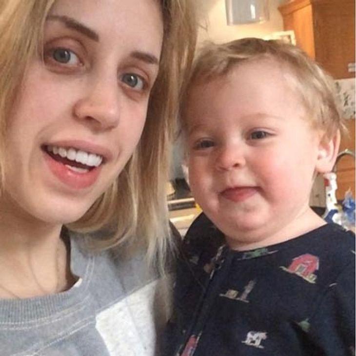 Peaches Geldof albert mit ihrem jüngsten Sohn