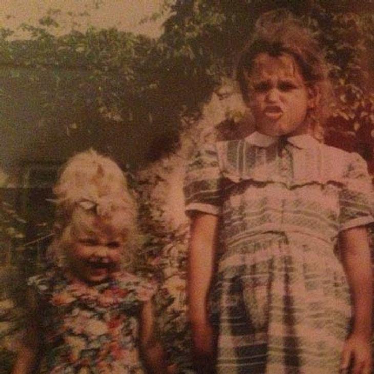 Peaches Geldof und ihre Schwester Fifi