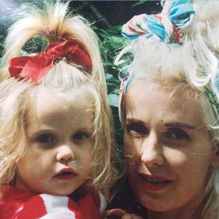 Peaches Geldof und ihre Mama Paula Yates
