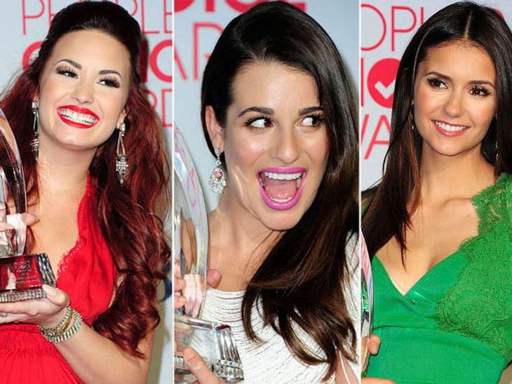 """""""People's Choice Awards"""" 2012Bei den """"People's Choice Awards"""" 2012 gab es Preise über Preise. Immerhin wird der Award in 43 Kategorien vergeben: Eine lange Nacht!"""