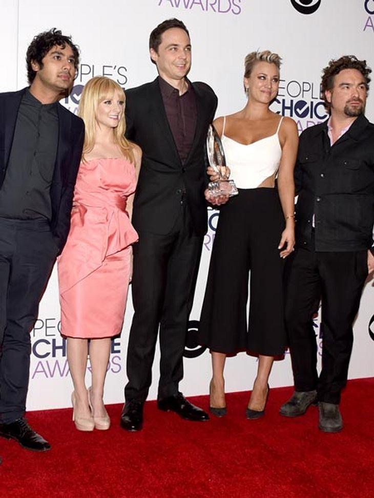 """The Big Bang Theory"" räumte ab"