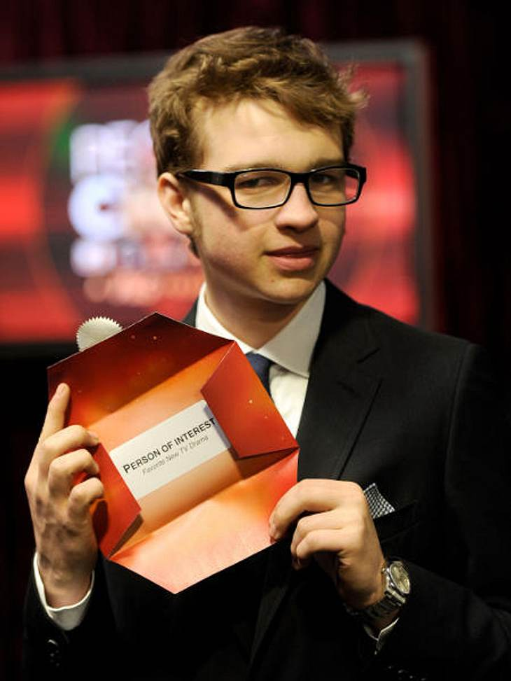 """People's Choice Awards"" 2012Angus T. Jones (18, ""Two and a Half Men"") präsentierte das beliebteste TV-Drama."