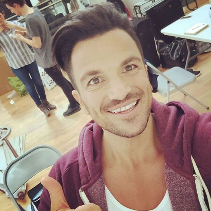 Peter Andre wird Papa